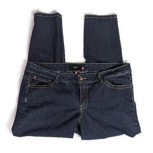 Torrid stretch skinny jeans dark wash
